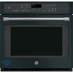 Café Black Slate Electric Self-Cleaning Convection Single Wall Oven
