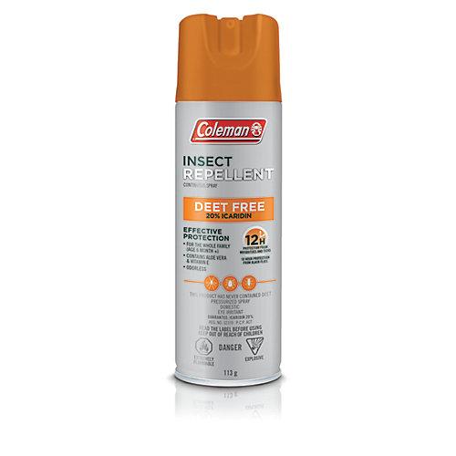 Chasse-moustiques en aérosol de 113 g, 20 % d'icaridine