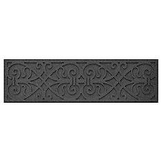 18-inch x 18-inch Medallion Stepping Stone in Grey
