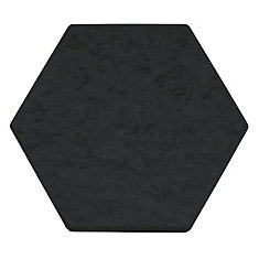 13.5-inch x 15.5-inch Hexagon Stepping Stone in Grey