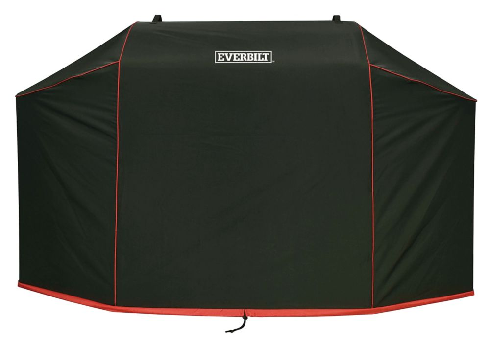 Everbilt 70 inch Grill Cover / 70 inch W x 24 inch L x 47 inch H/ Polyester