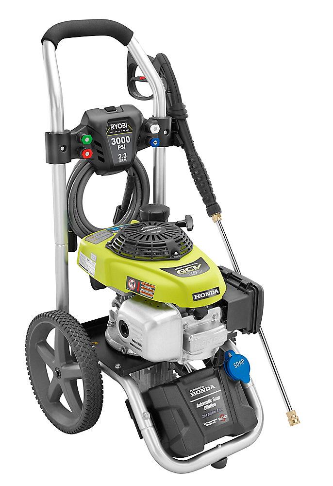 3000PSI 2.3 GPM Gas Pressure Washer