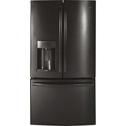 GE Profile 22.2 Cu. Ft. Counter-Depth French-Door Refrigerator with Door In Door