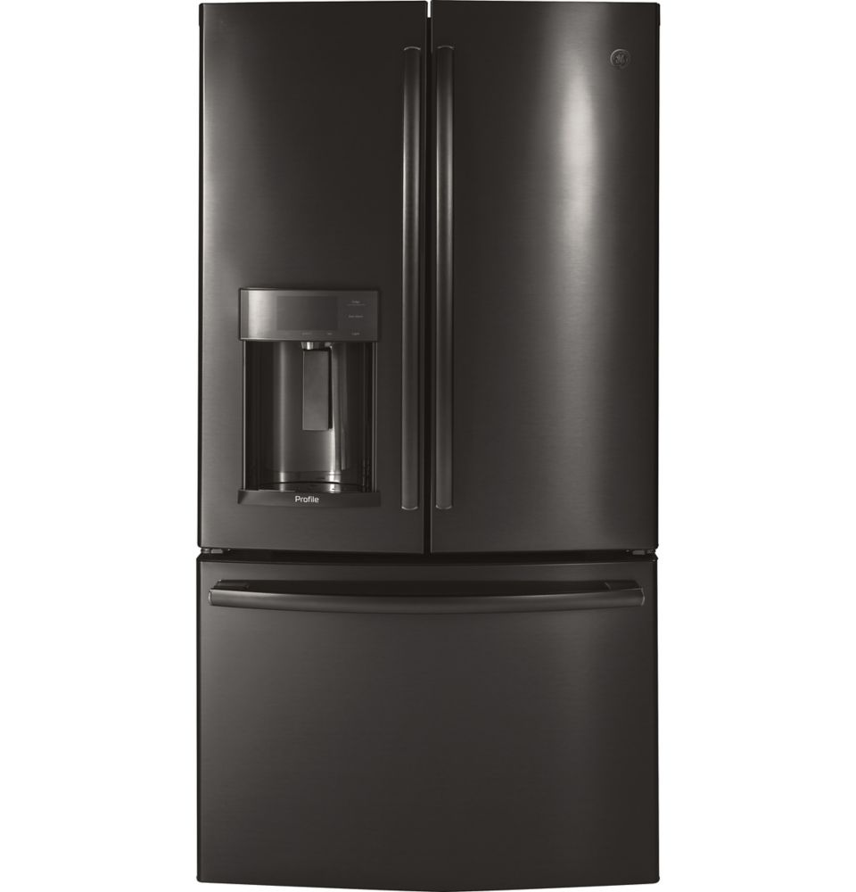 GE Profile 22.2 Cu. Ft. Counter-Depth French-Door Refrigerator with Door In Door