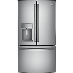 22.2 Cu. Ft. Counter-Depth French-Door Refrigerator with Door In Door