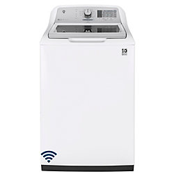 GE 5.8 cu. ft. High Efficiency Top Load Washer in White