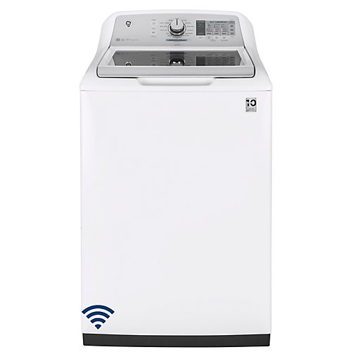 5.8 cu. ft. High Efficiency Top Load Washer in White