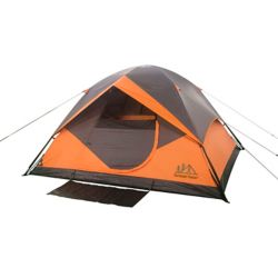 THD 10 ft. x 9 ft. x 66-inch 6-Person Instant Dome Polyester Tent with fibreglass Poles
