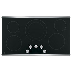 GE 36 Stainless Steel Radiant Cooktop