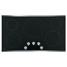 36 Stainless Steel Radiant Cooktop
