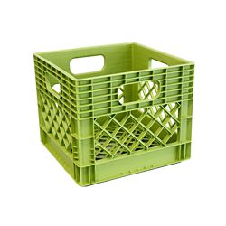 GSC Storage Tote  Milk Crate - 25L/6.5gal - Key Lime
