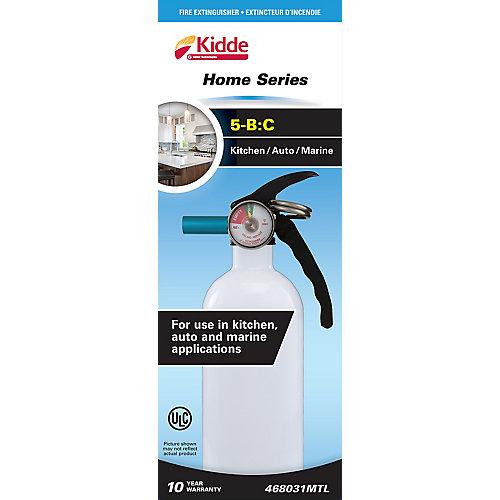 5BC Kitchen and Garage Extinguisher - white