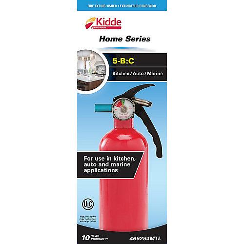 5-B:C Kitchen/Garage Home Series Red Fire Extinguisher