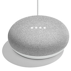 Google Home Mini Smart Speaker with Google Assistant in Chalk