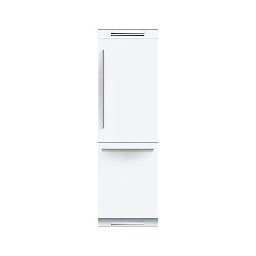 24po, congélateur en bas, encastré, panneaux personnalisés, Home Connect - ENERGY STAR®