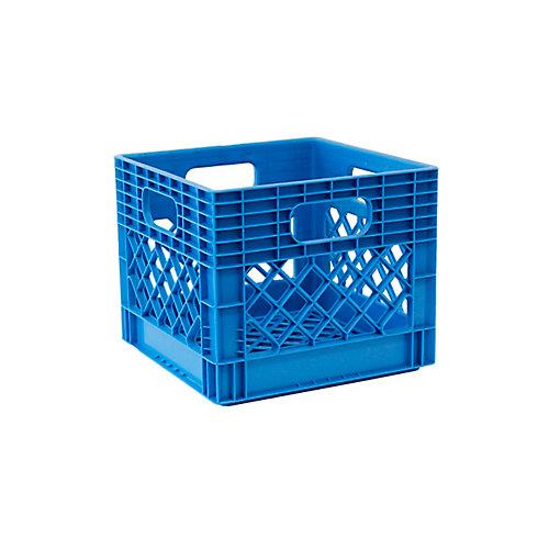 Storage Tote Milk Crate - 25L/6.5gal - HX Blue
