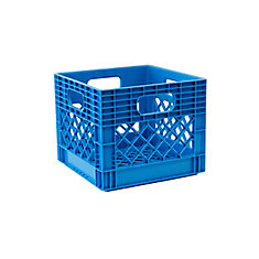 Storage Tote Milk Crate - 25L/6.5gal - HX Blue