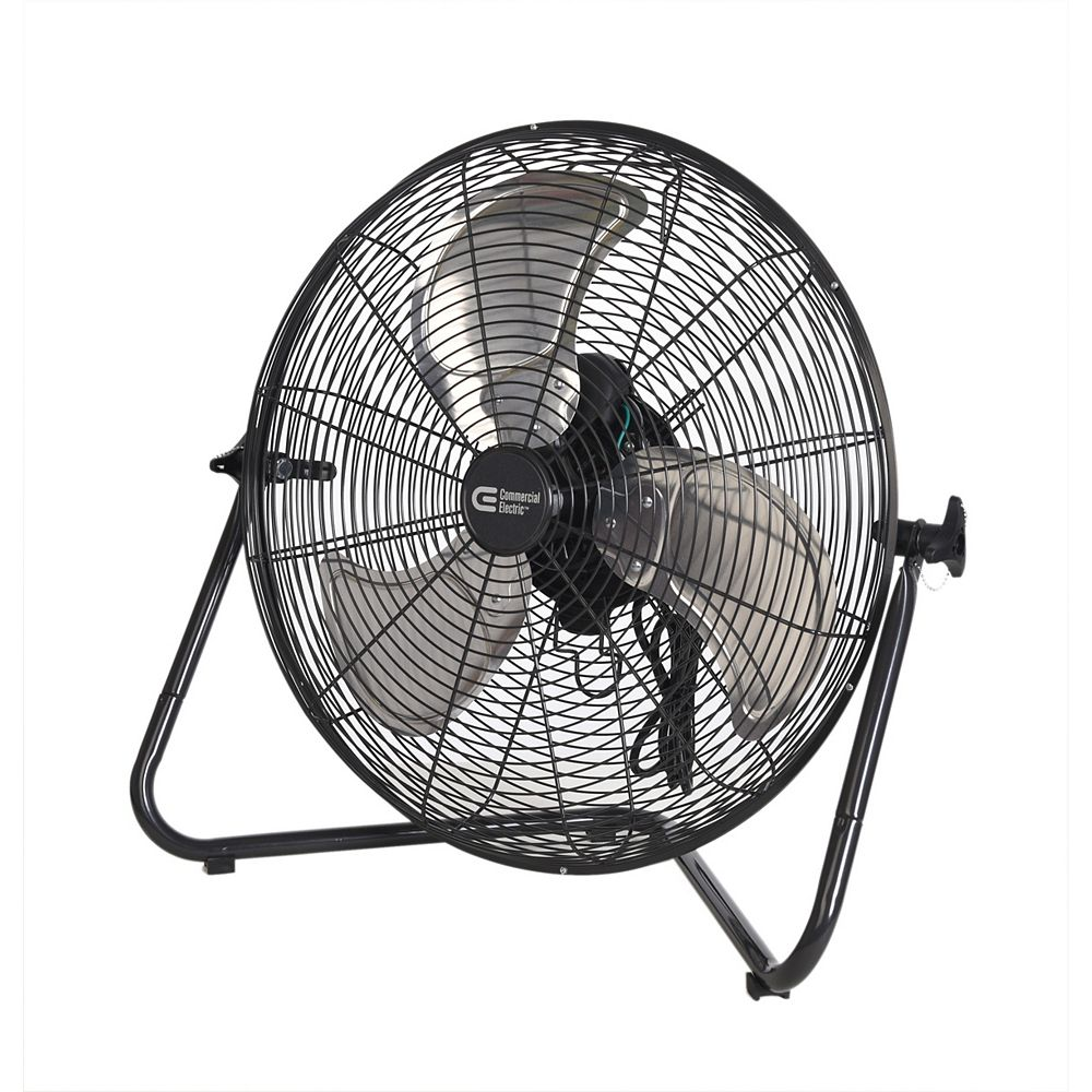 Commercial Electric 20-inch 3-Speed High Velocity Floor Fan