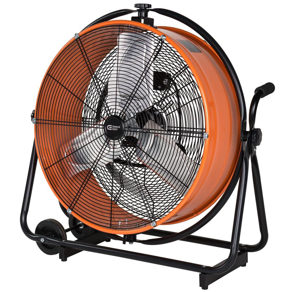 24-inch Heavy Duty Direct Drive Orbital Drum Fan