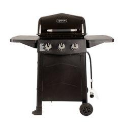 Dyna Glo 3-Burner 449 sq. inch BBQ with Side Tables