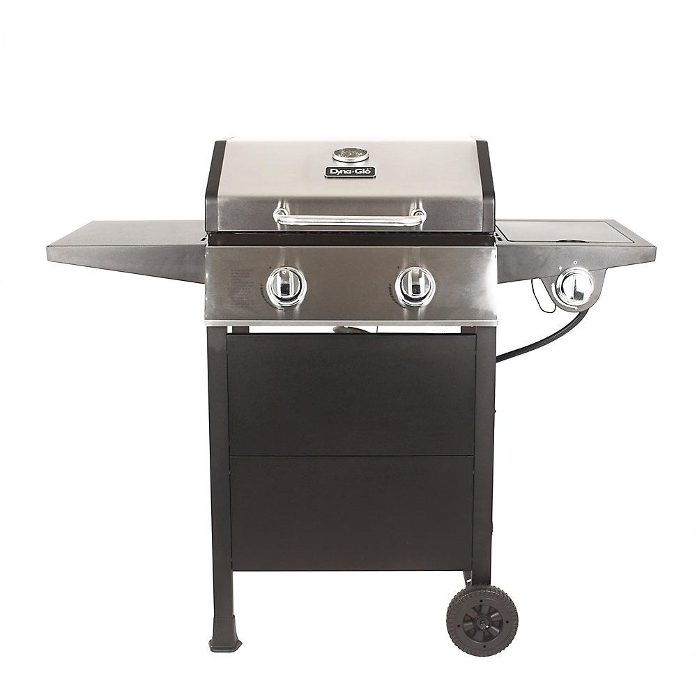 2-Burner Propane BBQ with Side Burner