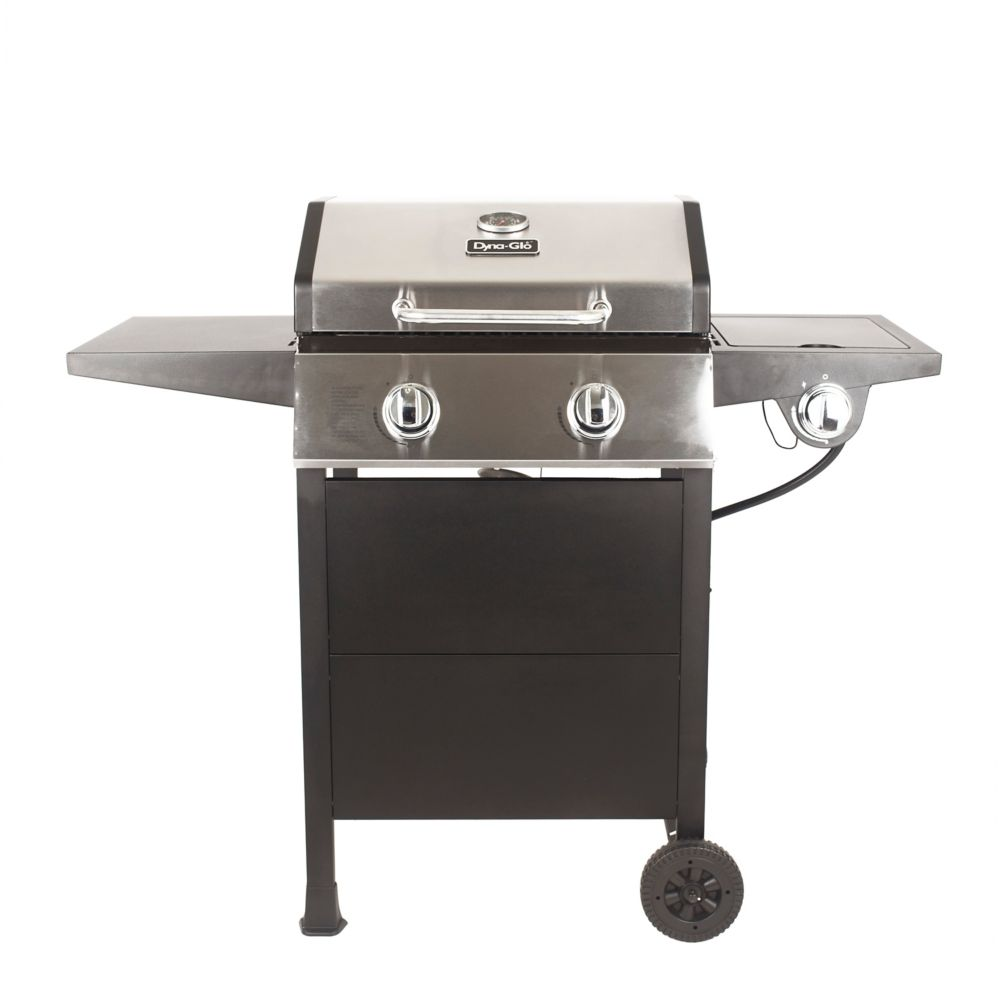 Dyna Glo 2-Burner Propane BBQ with Side Burner