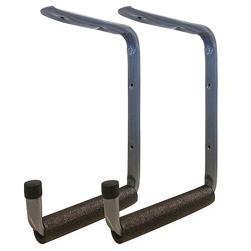 Everbilt 2-inch 50 lb. Capacity 1-Shelf Heavy Duty Padded Hanger