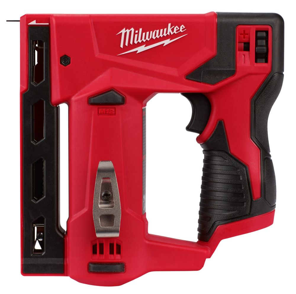 M12 12V Lithium-Ion Cordless 3/8 inch Crown Stapler (Tool-Only)