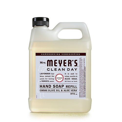 Mrs. Meyers Clean Day Hand Soap Refill - Lavender