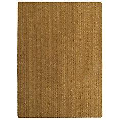 Brown Coco Rib 12 feet by custom length Carpet Roll