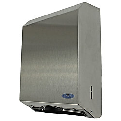 Frost Stainless Steel Multifold Paper Towel With Lock