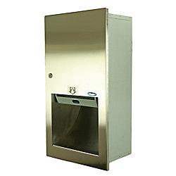 Frost Hands Free Semi-Recessed Paper Towel Dispenser
