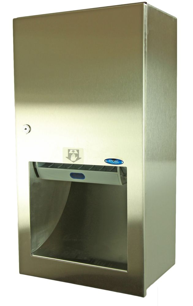 Hands Free Surface Mounted Paper Towel Dispenser