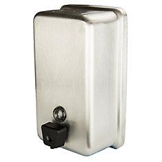 Distributeurs, réservoirs de savon, virticale