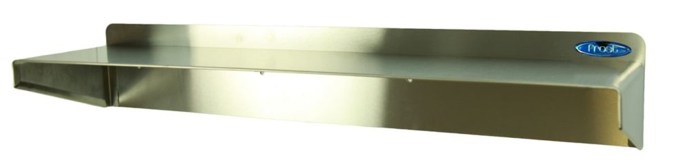 Frost Stainless Steel Shelf,16 Inch Length,4 Inch Depth