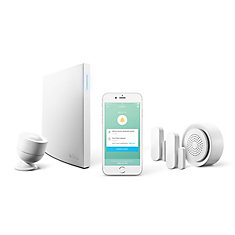 Wink Lookout Security Kit with Wink Smart Home Hub 2, Motion Sensor, 2 Window/Door Sensors, & Chime