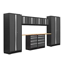 NewAge Products Inc. Ensemble de 10 morceaux Série 3.0 Bold Gris