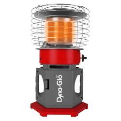Dyna-Glo 18K BTU HeatAround Portable 360 Propane Heater, Red