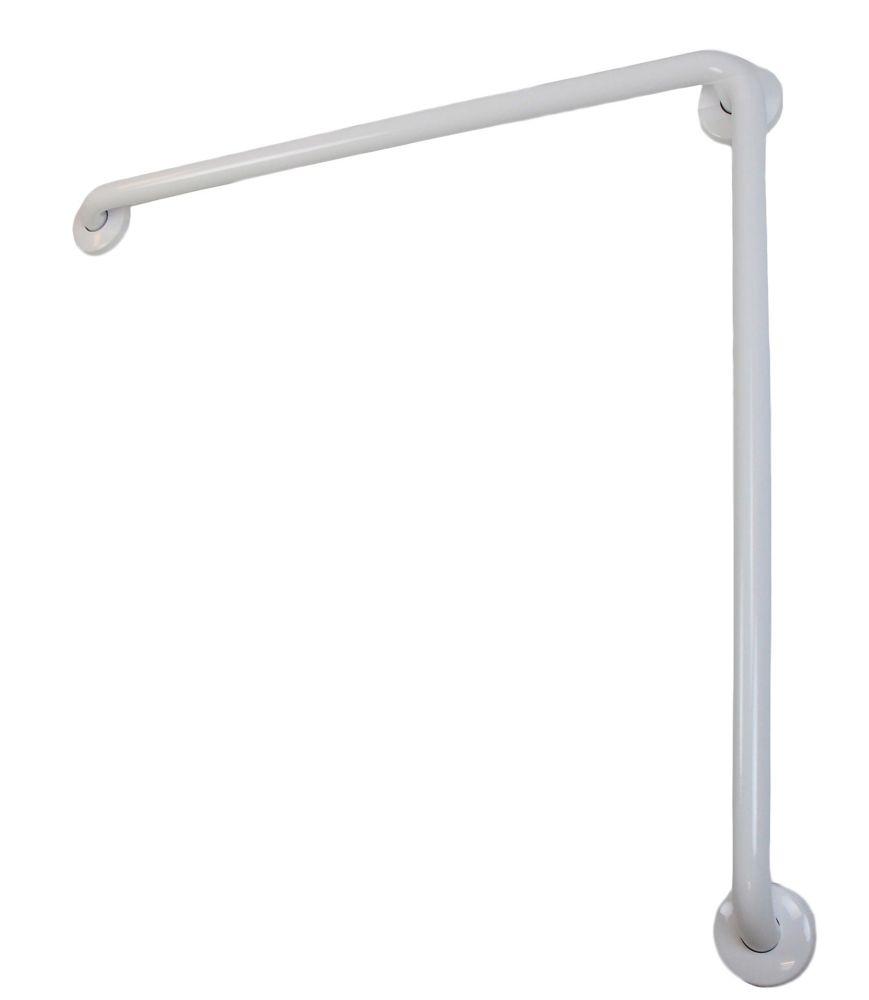 Frost White Grab Bar 30 Inchx30 Inch 1 1/4 Inch Diameter