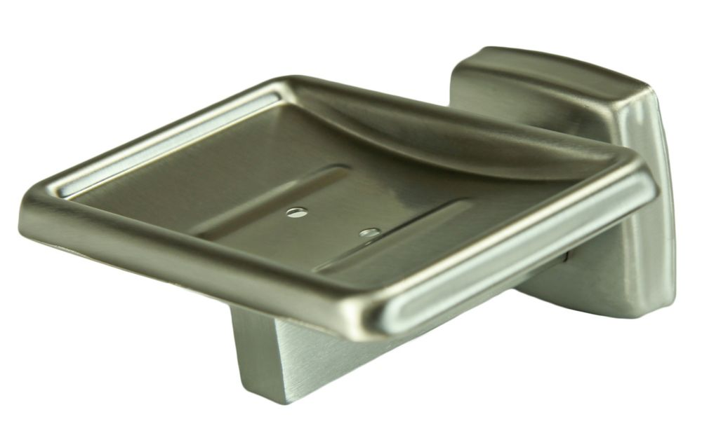 Frost Soap Dish, Stainless Steel, Surface Mounted
