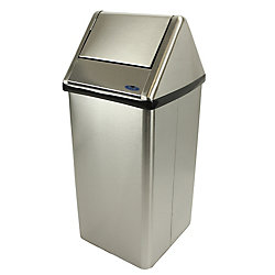 Frost Medium Waste Receptacle Stainless Steel
