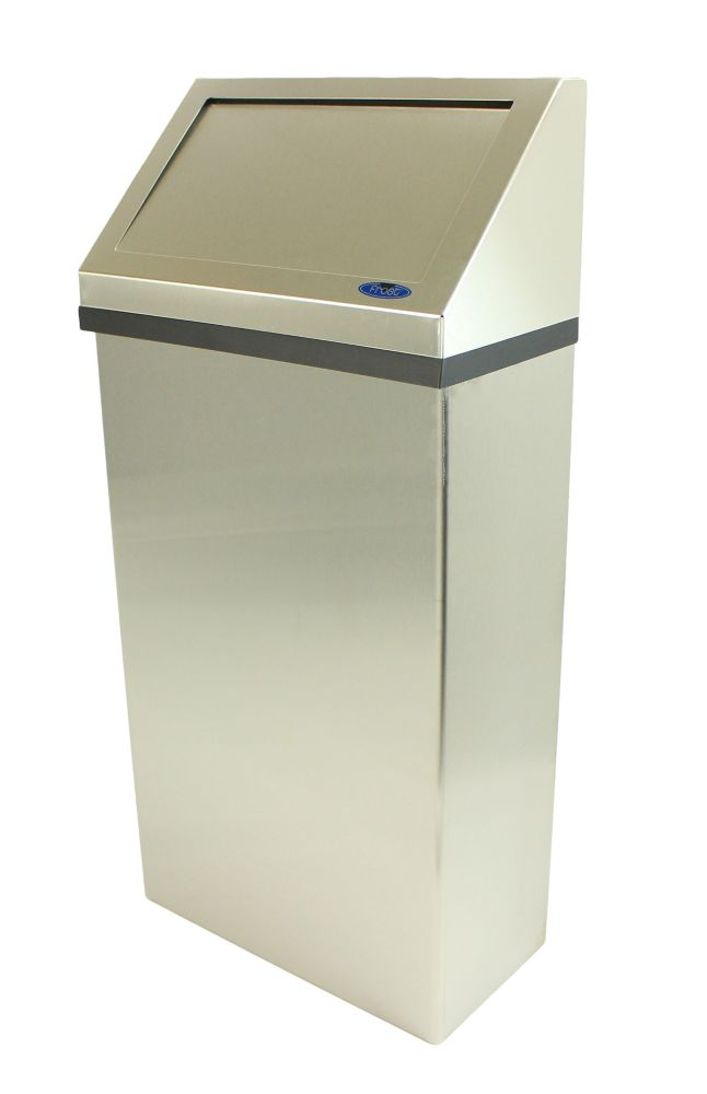 Frost Wall Mounted Waste Receptacle Stainless Steel