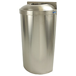Frost Wall Mounted Waste Receptacle With Open Top