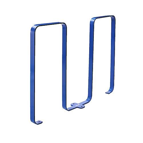 Steel Five Bike Rack Blue Finish