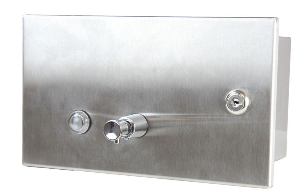 Frost Recessed Manual Liquid Soap Dispenser