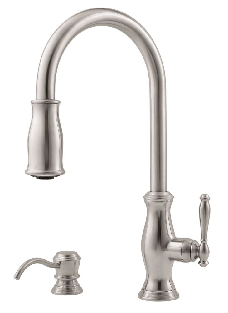 Pfister Hanover Kitchen Pull Down Faucet Faucet in Stainless Steel