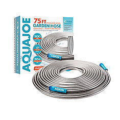 Heavy-Duty 75 ft. Spiral Constructed Stainless Steel Garden Hose