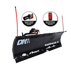 "DK2 DK2 Rampage II 82"" x 19"" Personal Snow Plow Kit - Custom Mount"