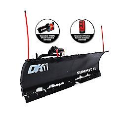 DK2 Summit II 88 inch x 26 inch Personal Snow Plow Kit - Custom Mount