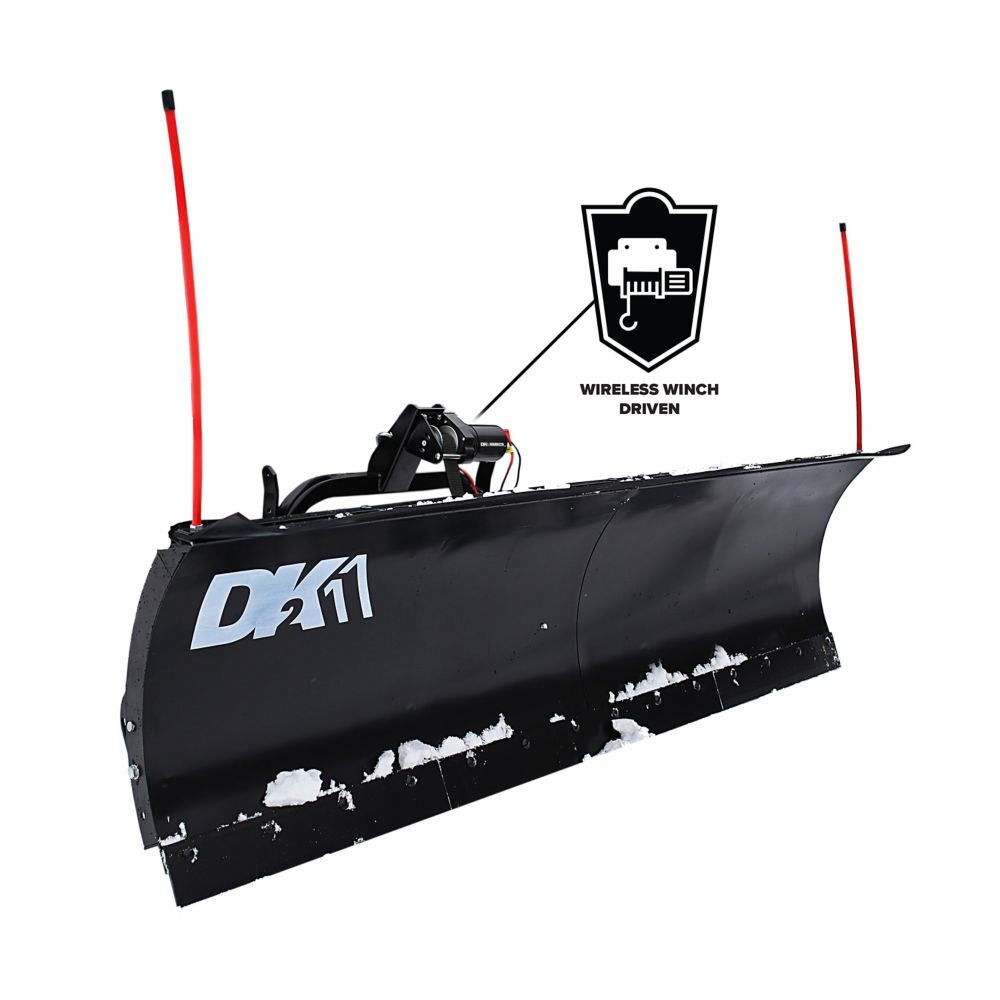 Dk2 Avalanche 84 X 22 Universal Mount Snow Plow Kit The